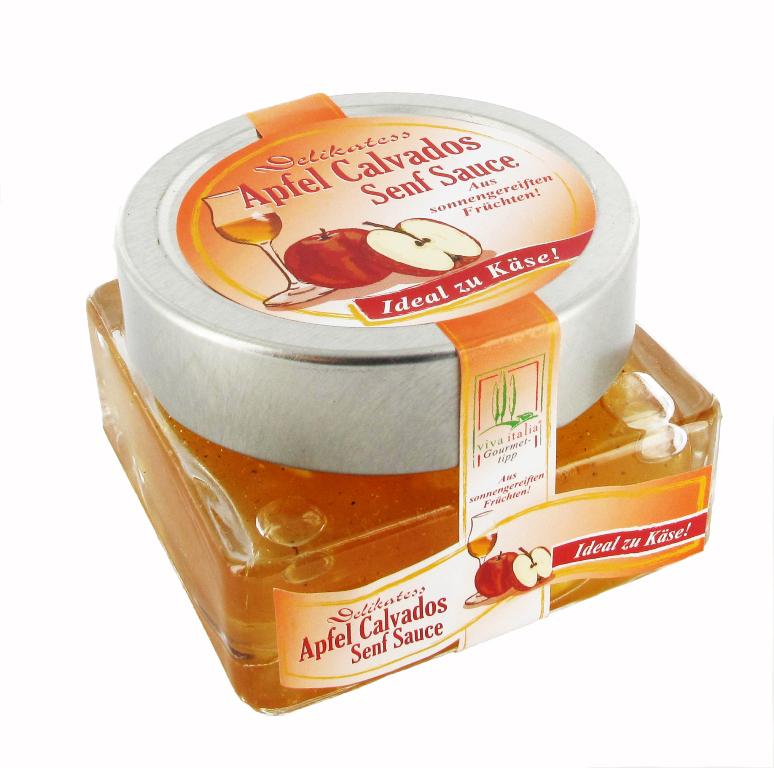 Viva Italia Fruchtsenfsauce Apfel Calvados 140g