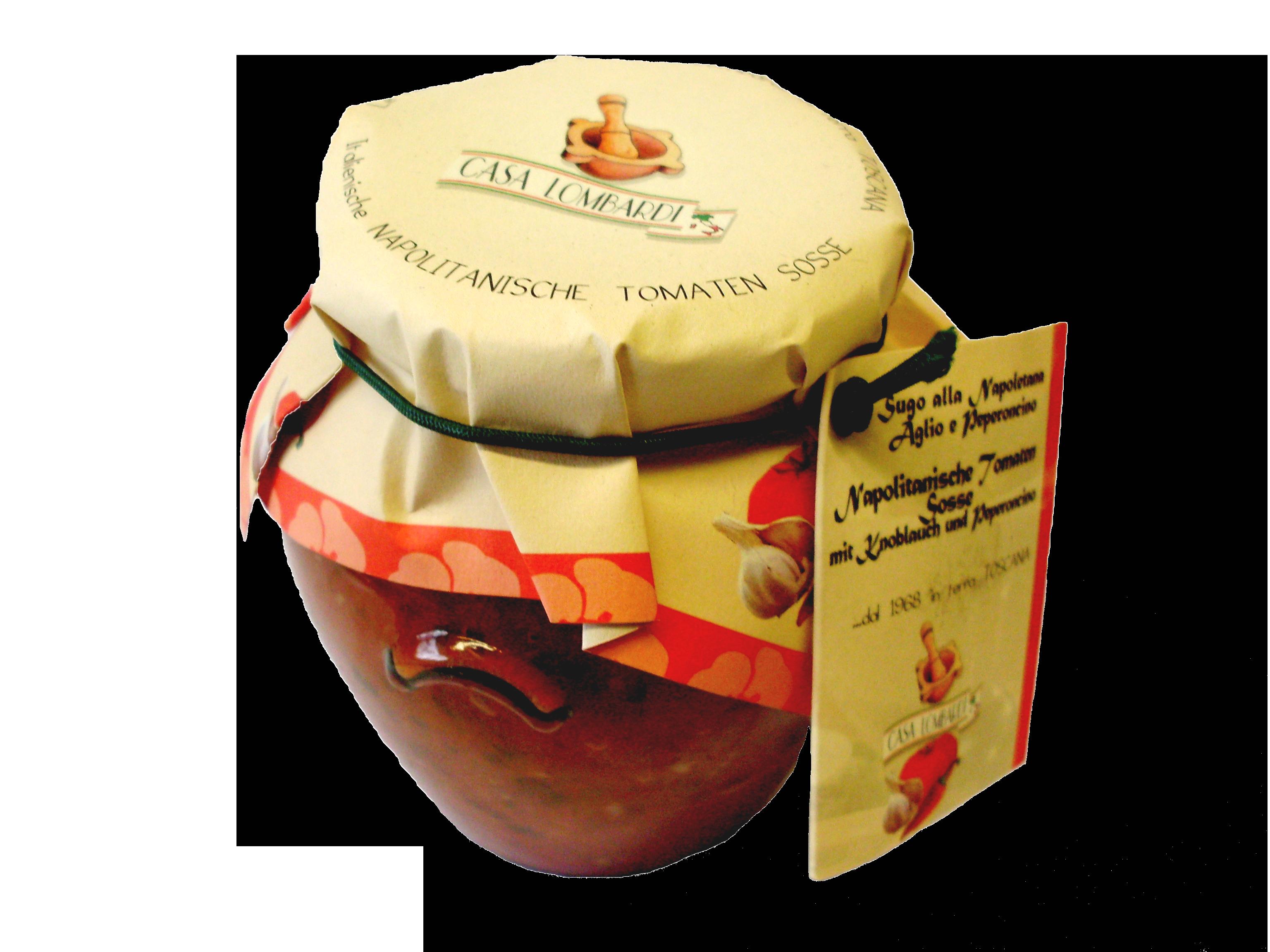 Crema Lombardi Napolitanische Tomatensauce 280g