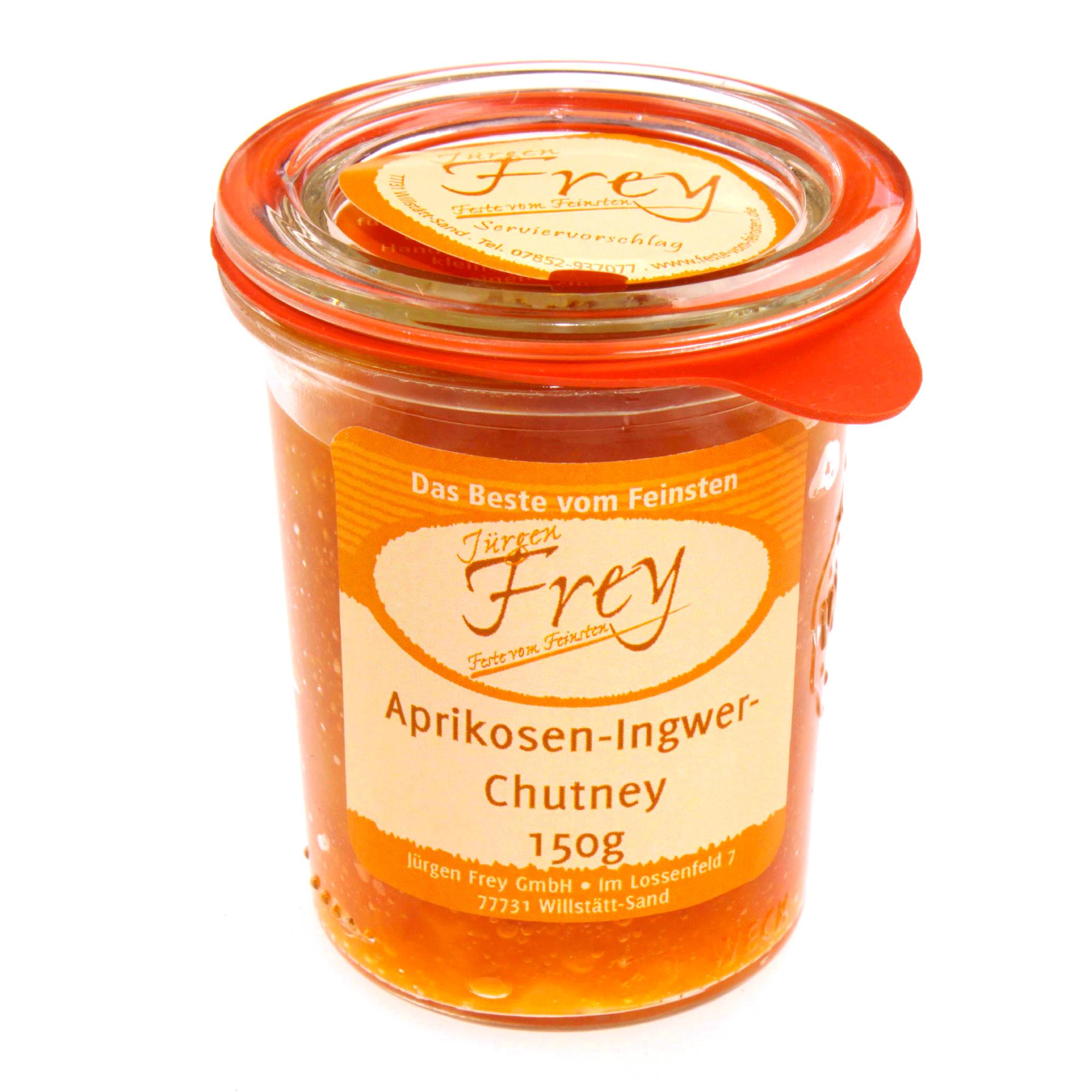 Aprikosen Ingwer-Chutney 150g