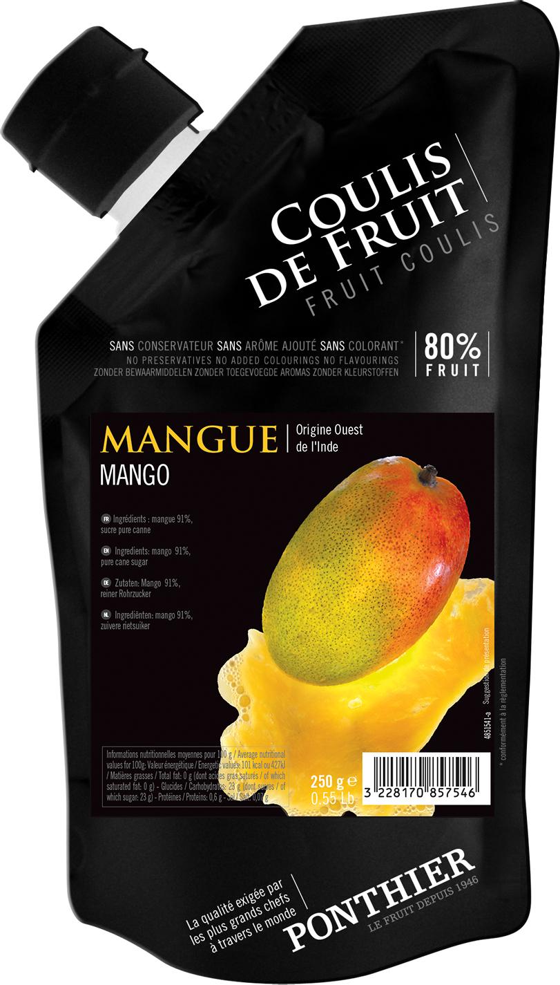 Ponthier Coulis Fruchtpüree Mango 250g