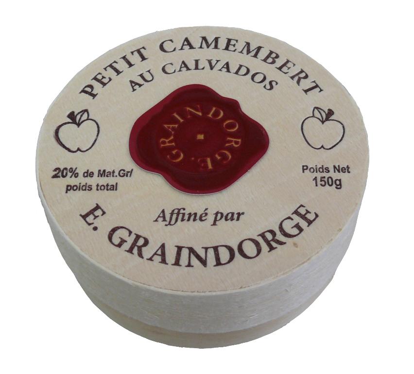 Graindorge Petit Camembert Calvados 150g