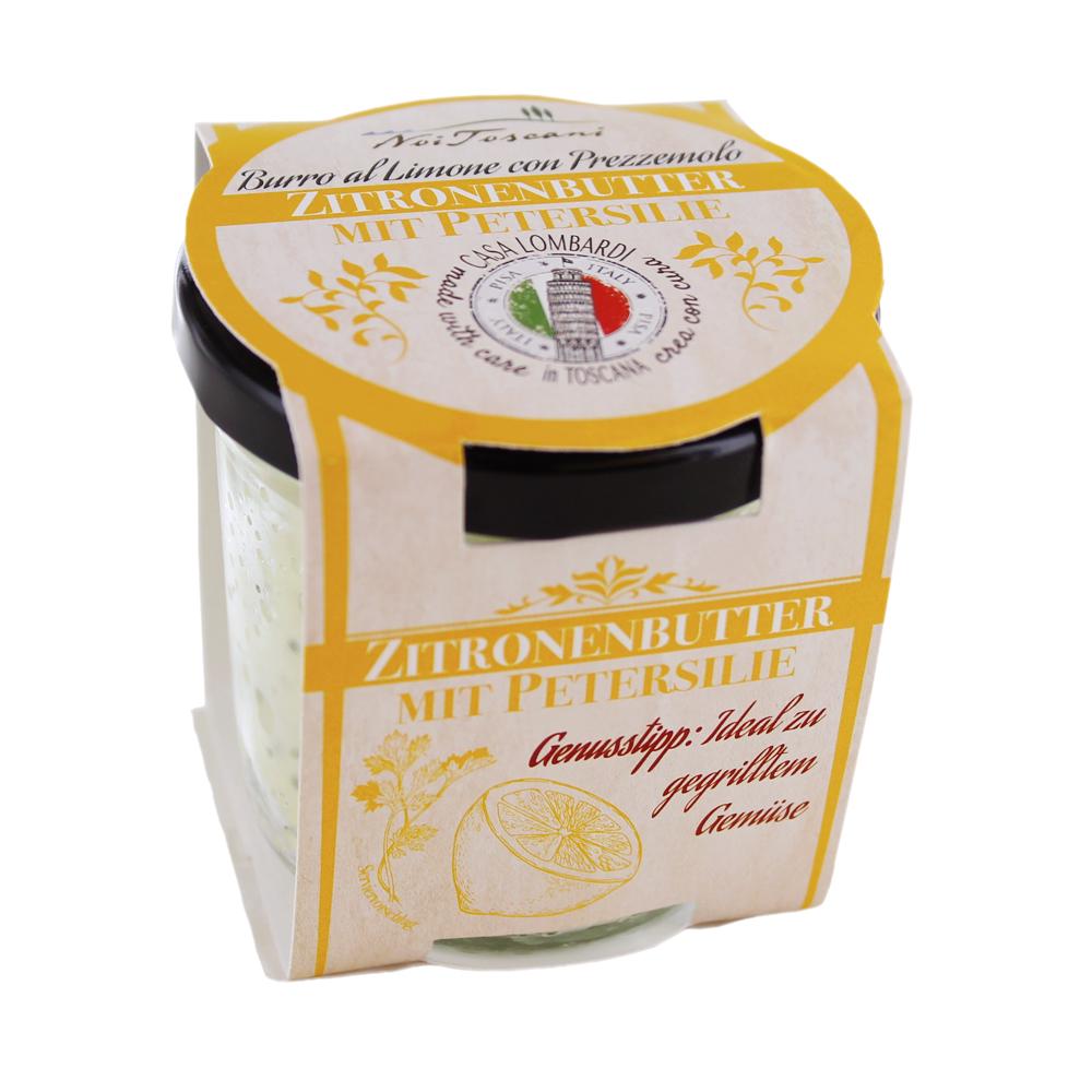 CREMA LOMBARDI Zitronen Butter 80g