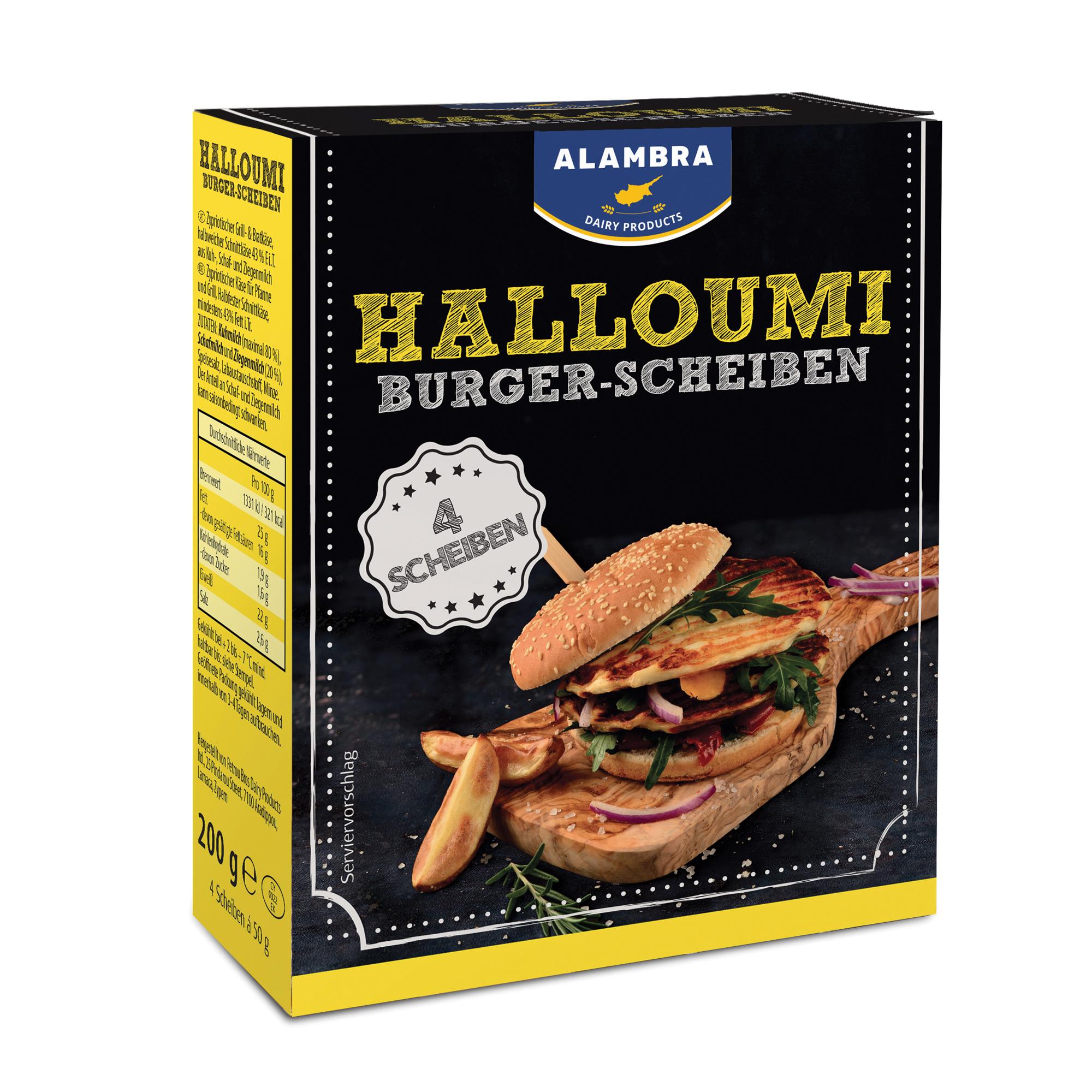 Halloumi Grillburger 200g