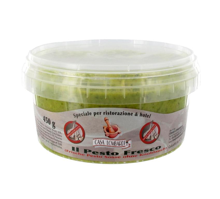 XL Pesto Fresco - Frische Pesto ohne Knoblauch 450g