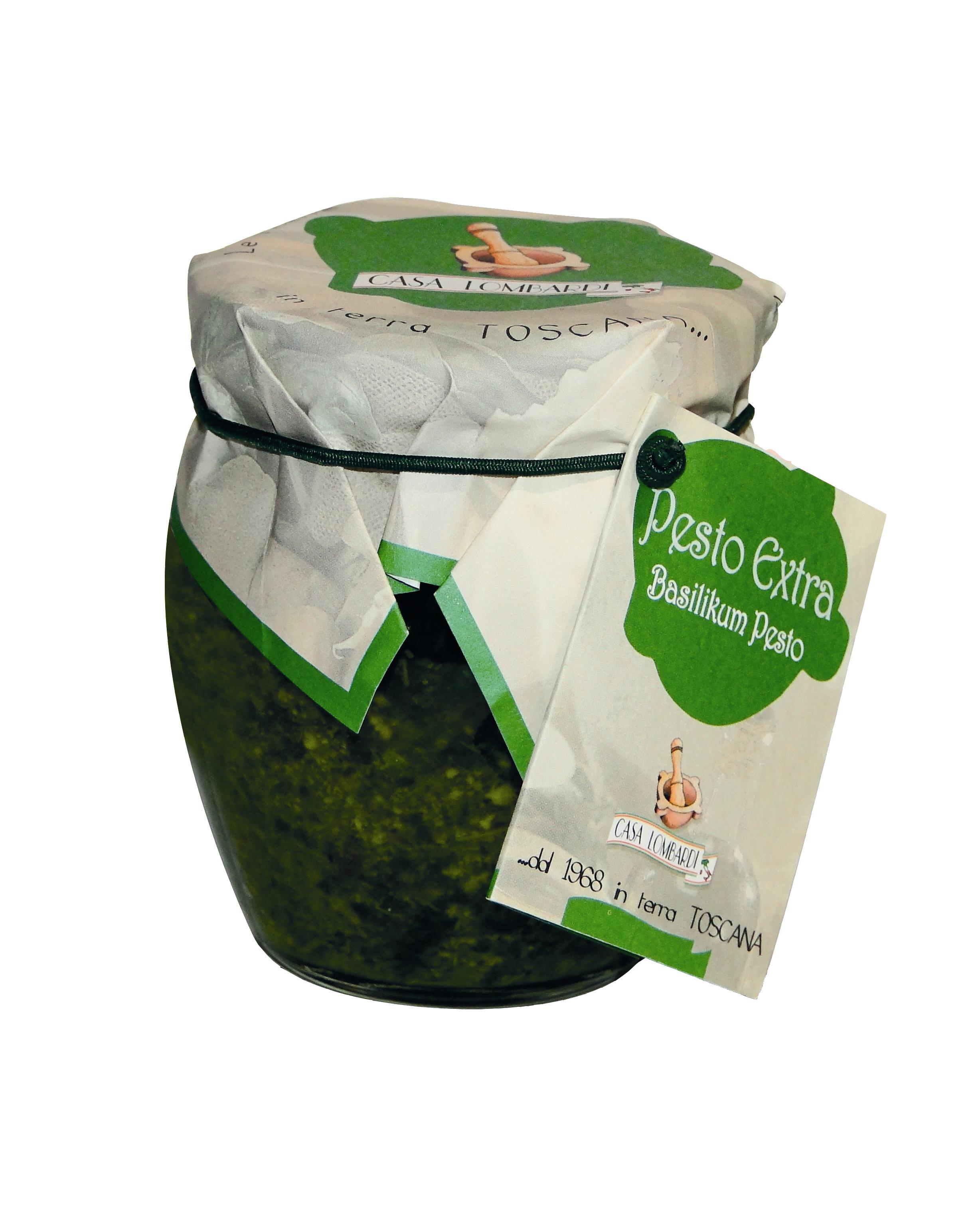 Crema Lombardi Pesto Extra 170g