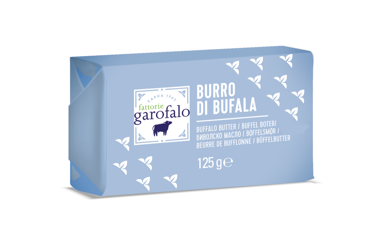 GAROFALO ITALIENISCHE BUEFFELBUTTER 125G