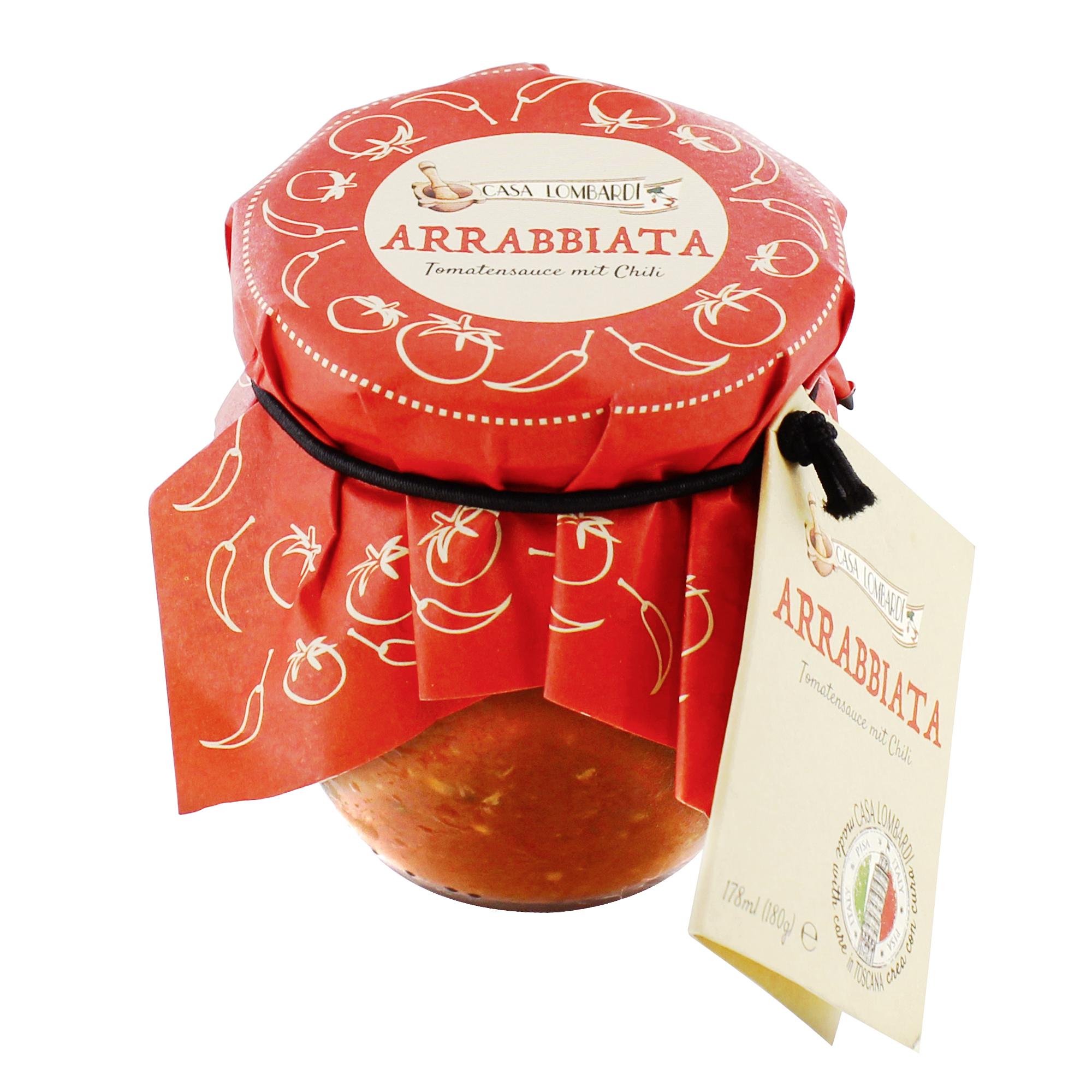 Crema Lombardi Arrabiata Sauce Chili 180g