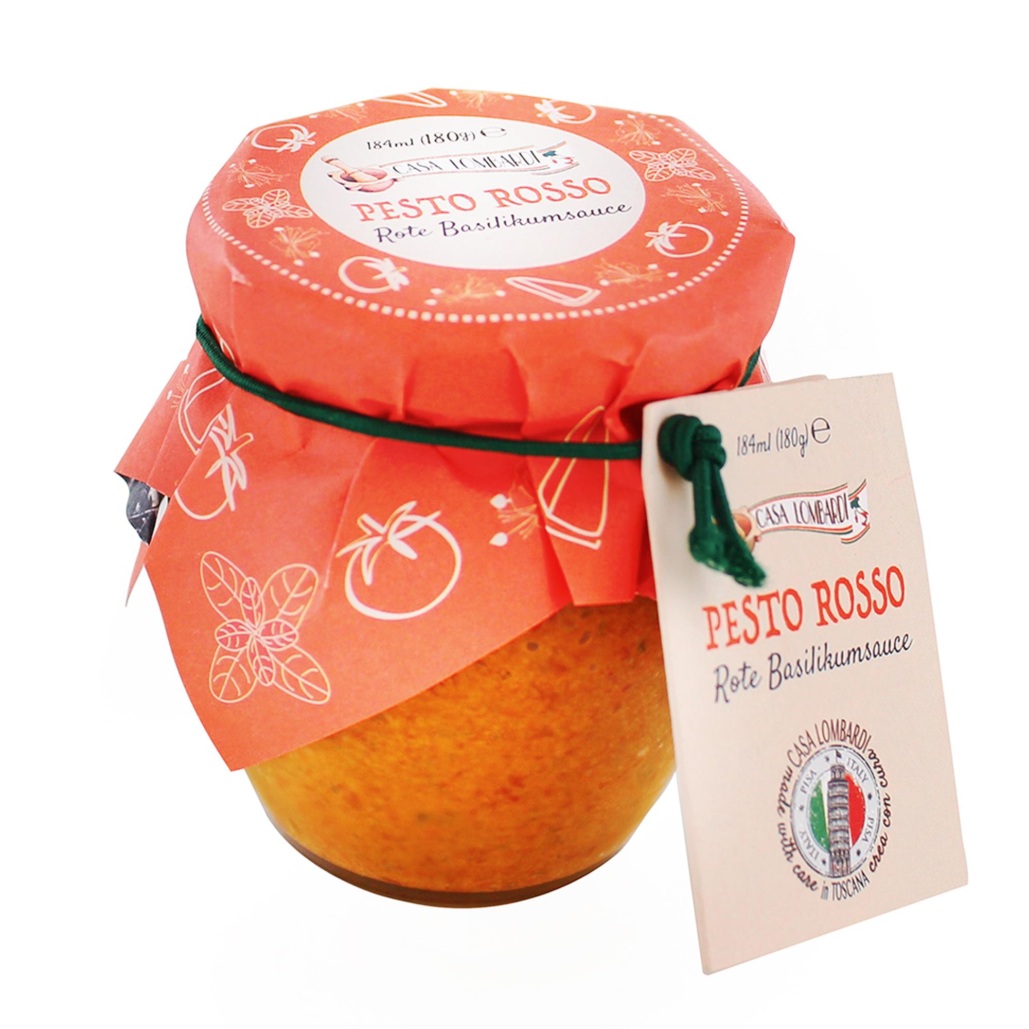 Crema Lombardi Pesto Rosso Toscano 180g