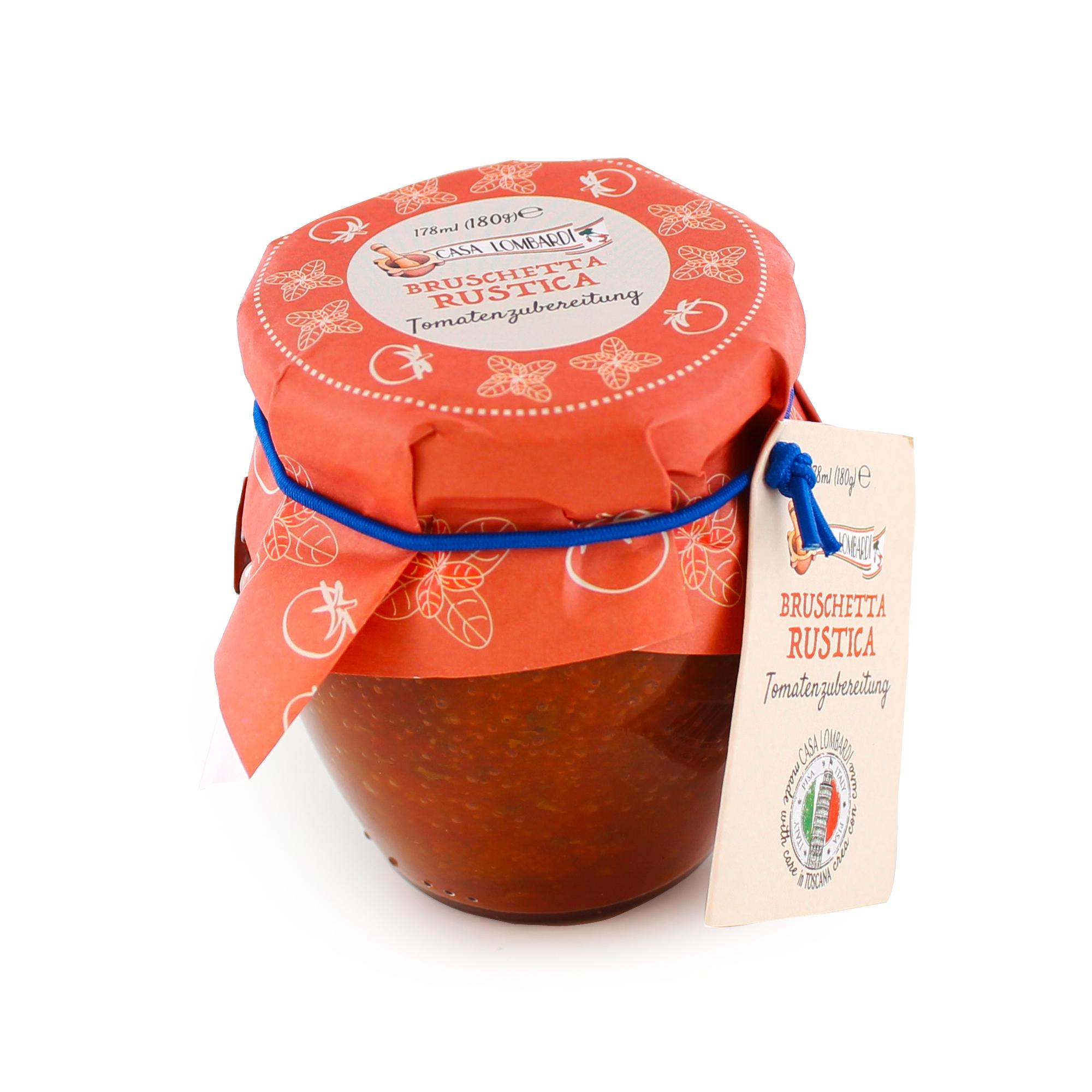 Crema Lombardi Bruschetta Rustica