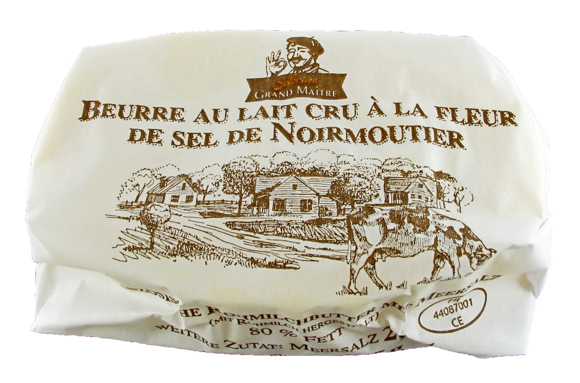 Grand Maître Sélection Rohmilch Butter mit Meersalz 125g