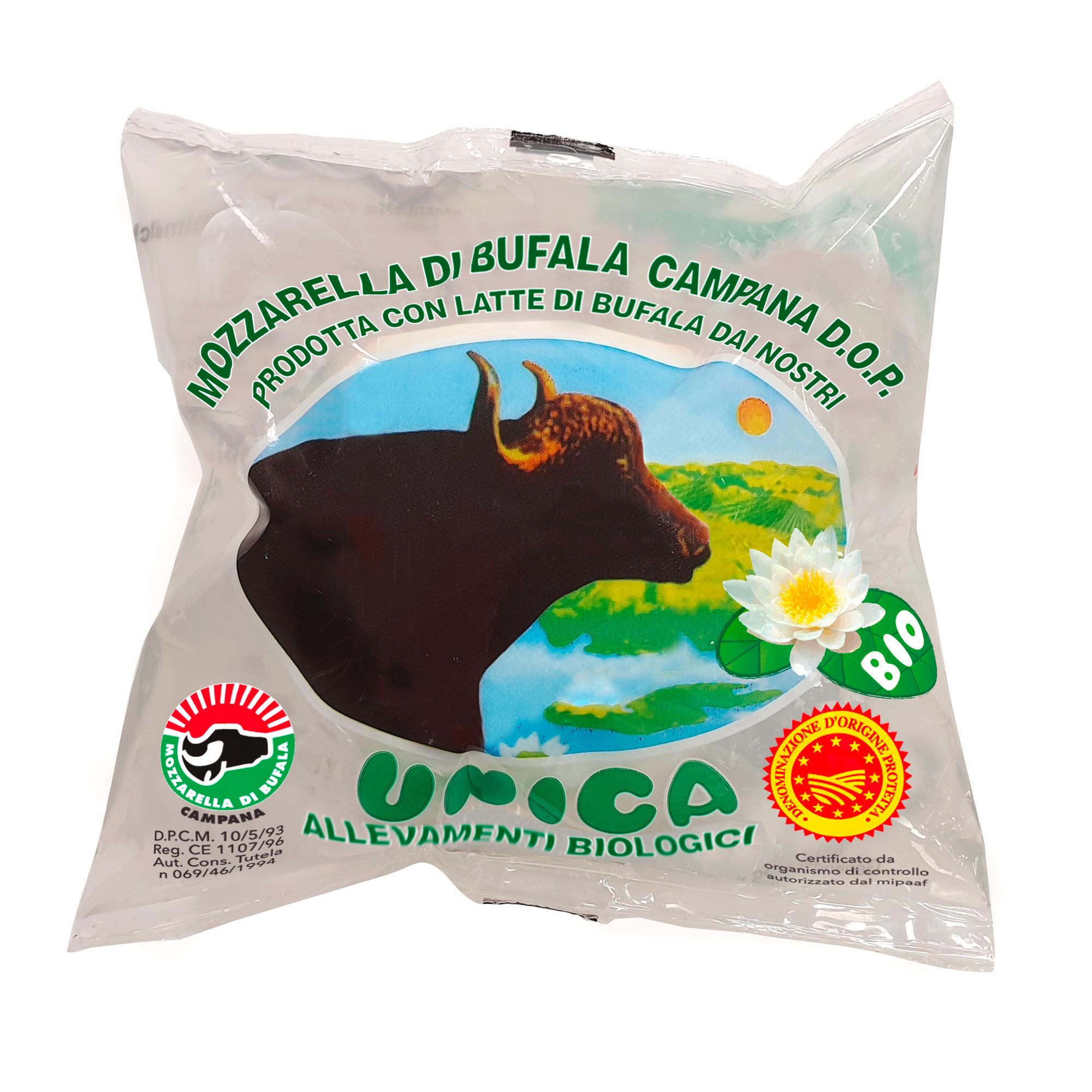 Unica – Bio Büffelmozzarella D.O.P. 100g